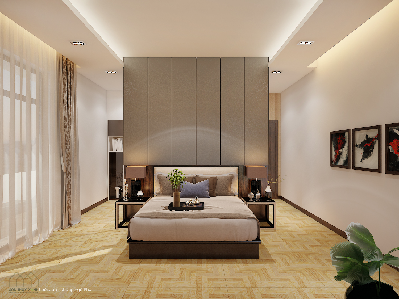 thiết kế Nội thất Biệt Thự 4 tầng Biệt thự Đoàn Khuê - Đa Phước 8 50