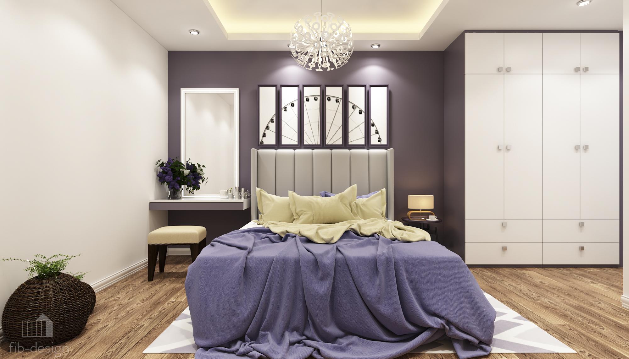 thiết kế nội thất chung cư tại Hà Nội P714 Chung cư GOLDSiLK 10 1544083443