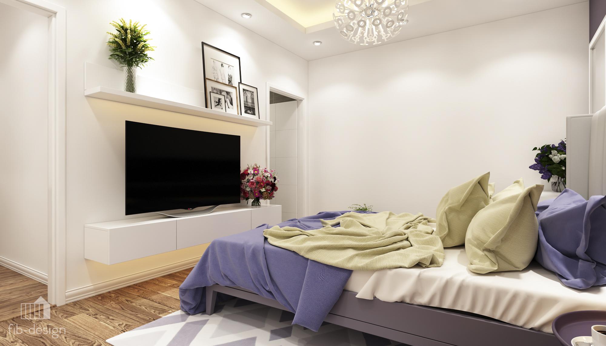 thiết kế nội thất chung cư tại Hà Nội P714 Chung cư GOLDSiLK 11 1544083444