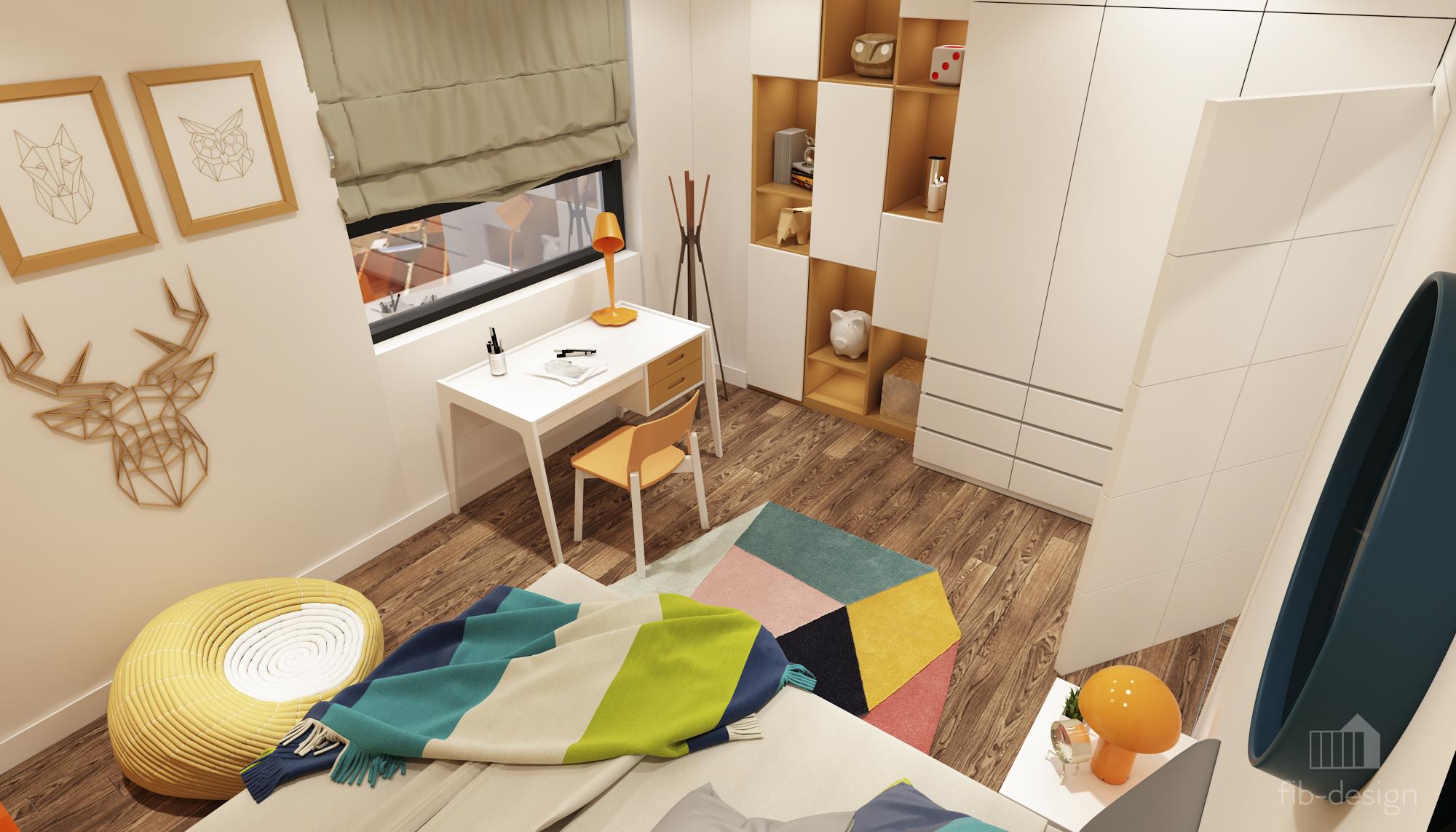 thiết kế nội thất chung cư tại Hà Nội P714 Chung cư GOLDSiLK 16 1544083445