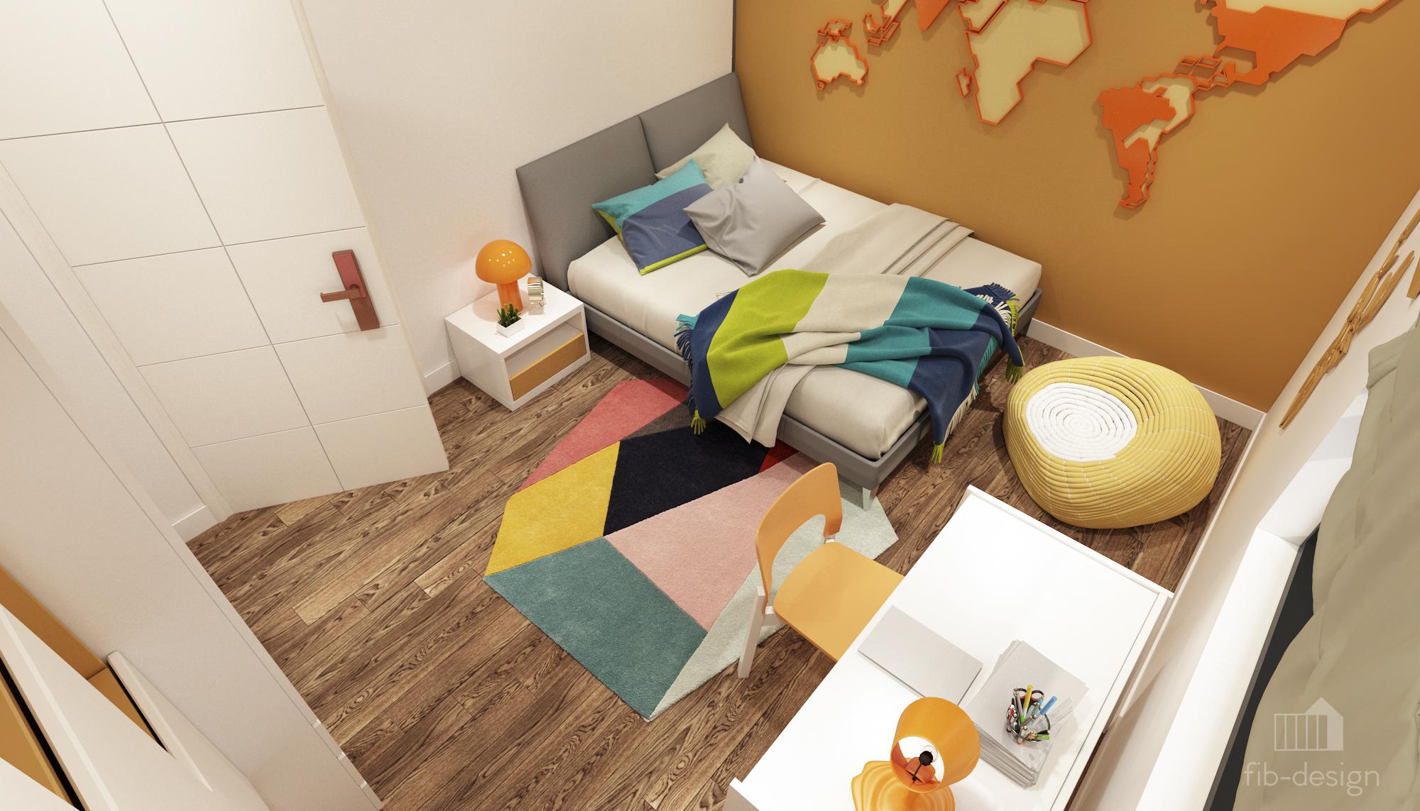 thiết kế nội thất chung cư tại Hà Nội P714 Chung cư GOLDSiLK 17 1544083445