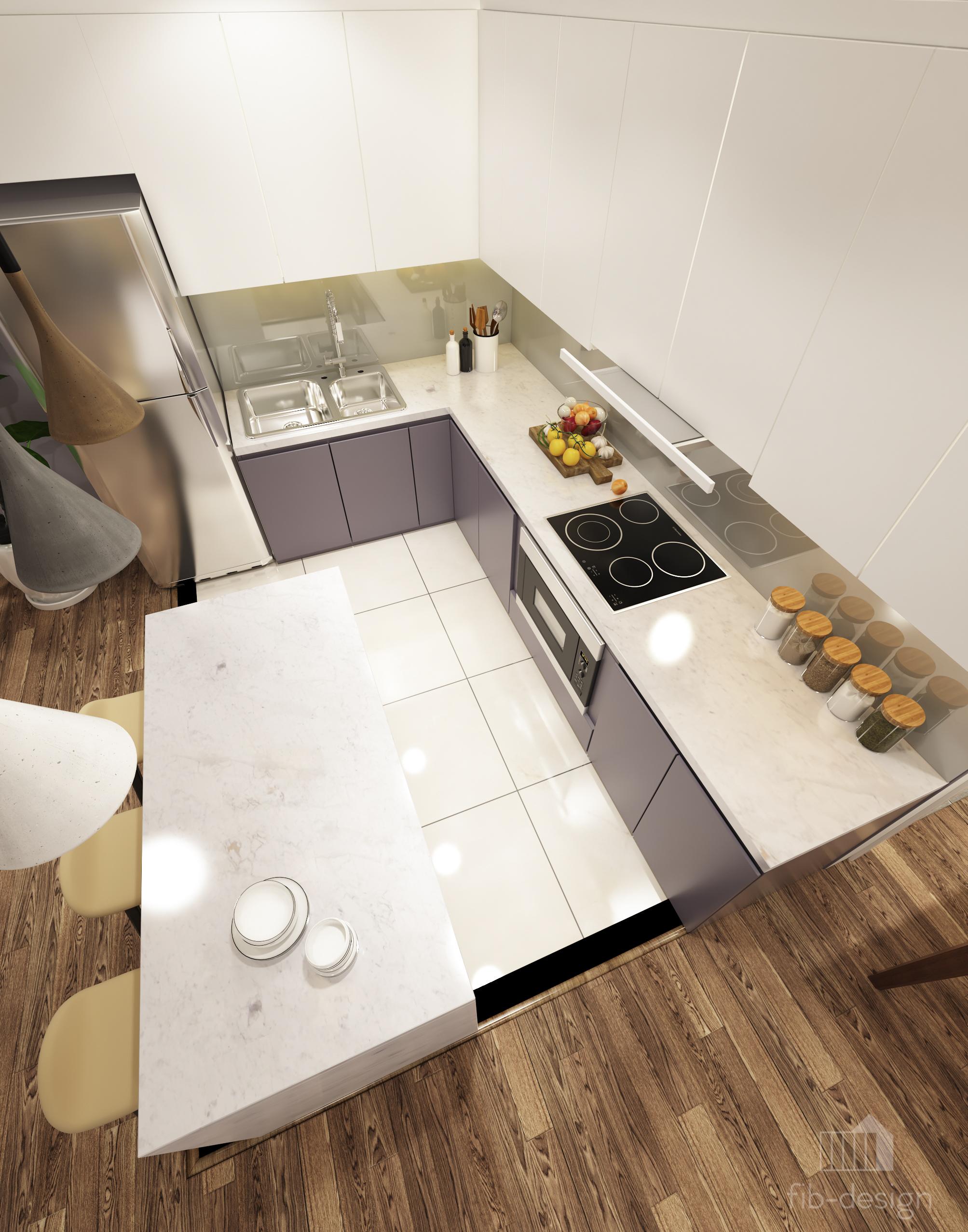 thiết kế nội thất chung cư tại Hà Nội P714 Chung cư GOLDSiLK 6 1544083451