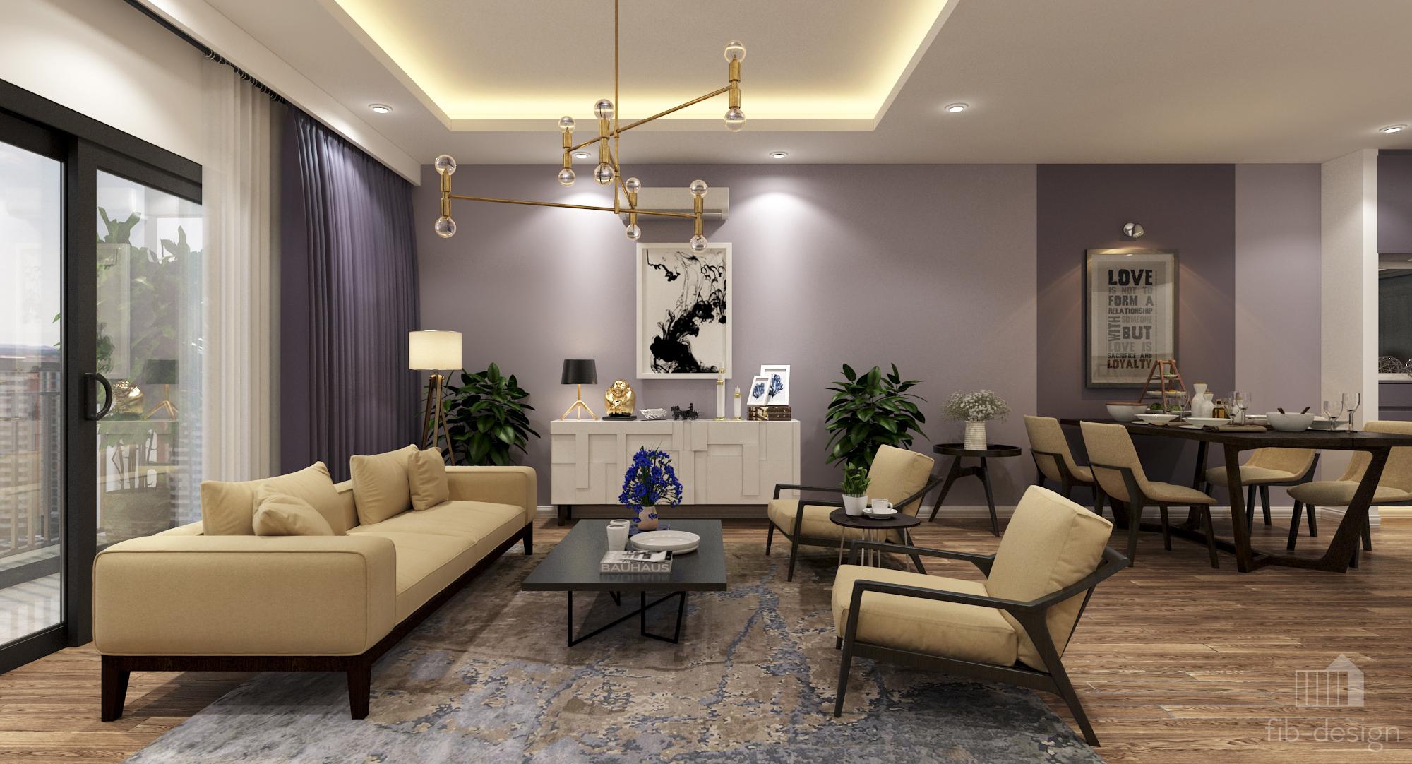 thiết kế nội thất chung cư tại Hà Nội P714 Chung cư GOLDSiLK 8 1544083448