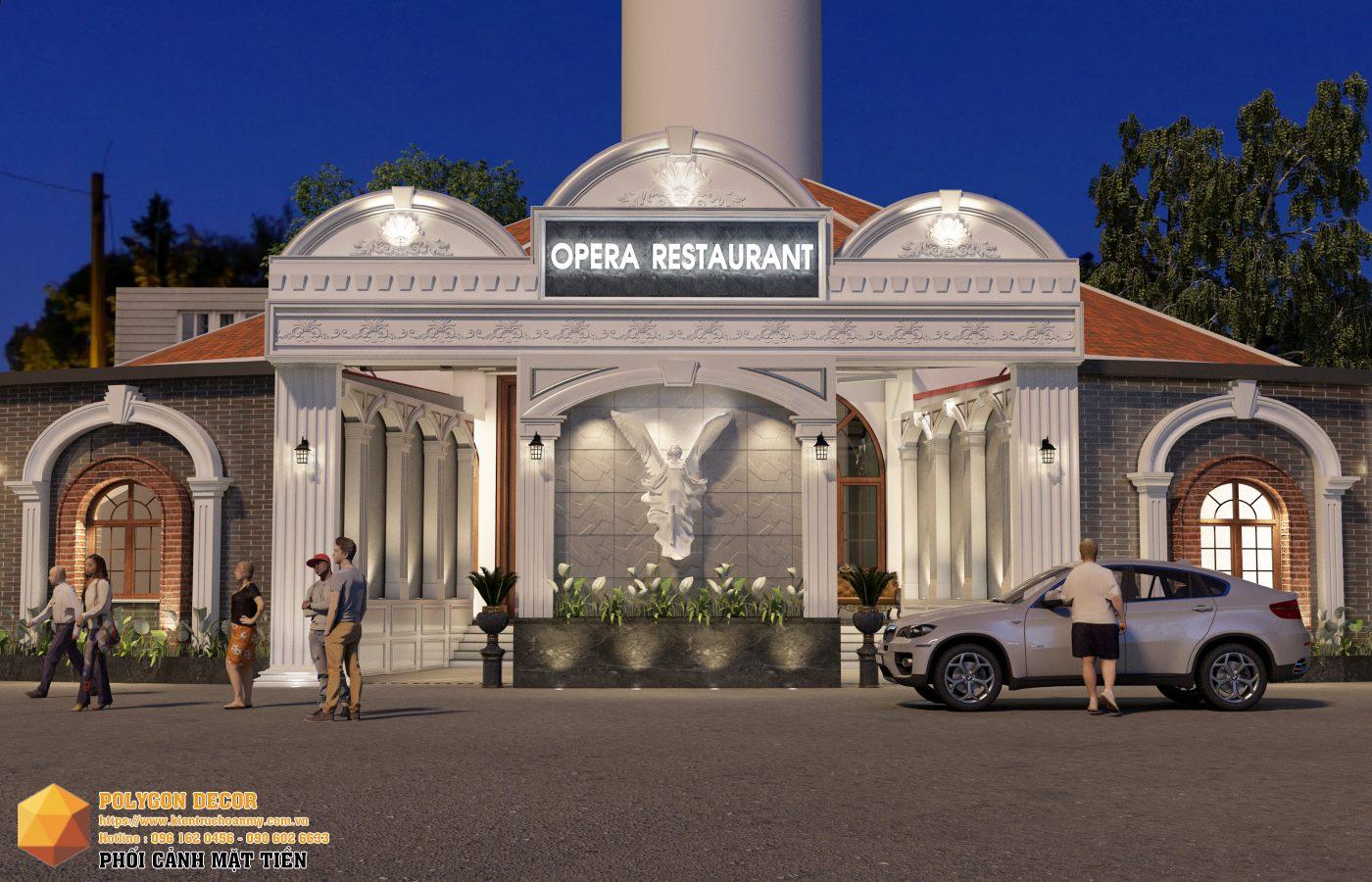 thiết kế nội thất Nhà Hàng tại Hải Dương OPERA CLUB 0 1561950473