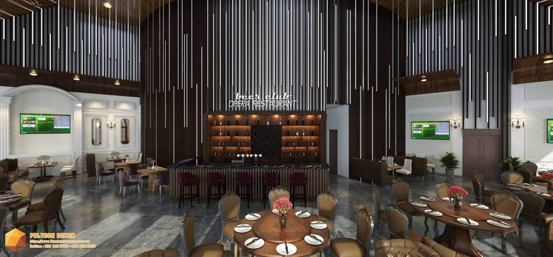 thiết kế nội thất Nhà Hàng tại Hải Dương OPERA CLUB 1 1561950473