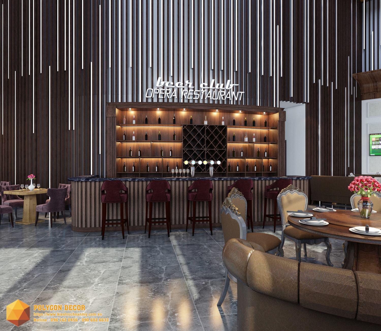 thiết kế nội thất Nhà Hàng tại Hải Dương OPERA CLUB 4 1561950474