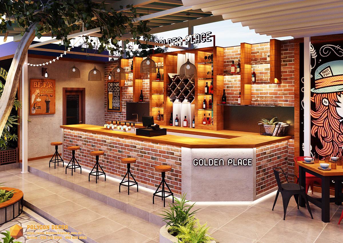 thiết kế nội thất Nhà Hàng tại Nam Định GOLDEN BEER - NAM ĐỊNH 0 1561950729