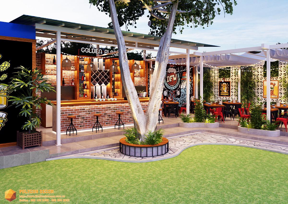 thiết kế nội thất Nhà Hàng tại Nam Định GOLDEN BEER - NAM ĐỊNH 3 1561950729