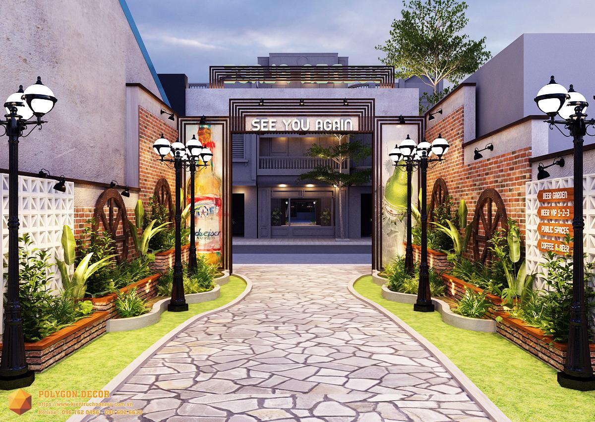 thiết kế nội thất Nhà Hàng tại Nam Định GOLDEN BEER - NAM ĐỊNH 4 1561950728