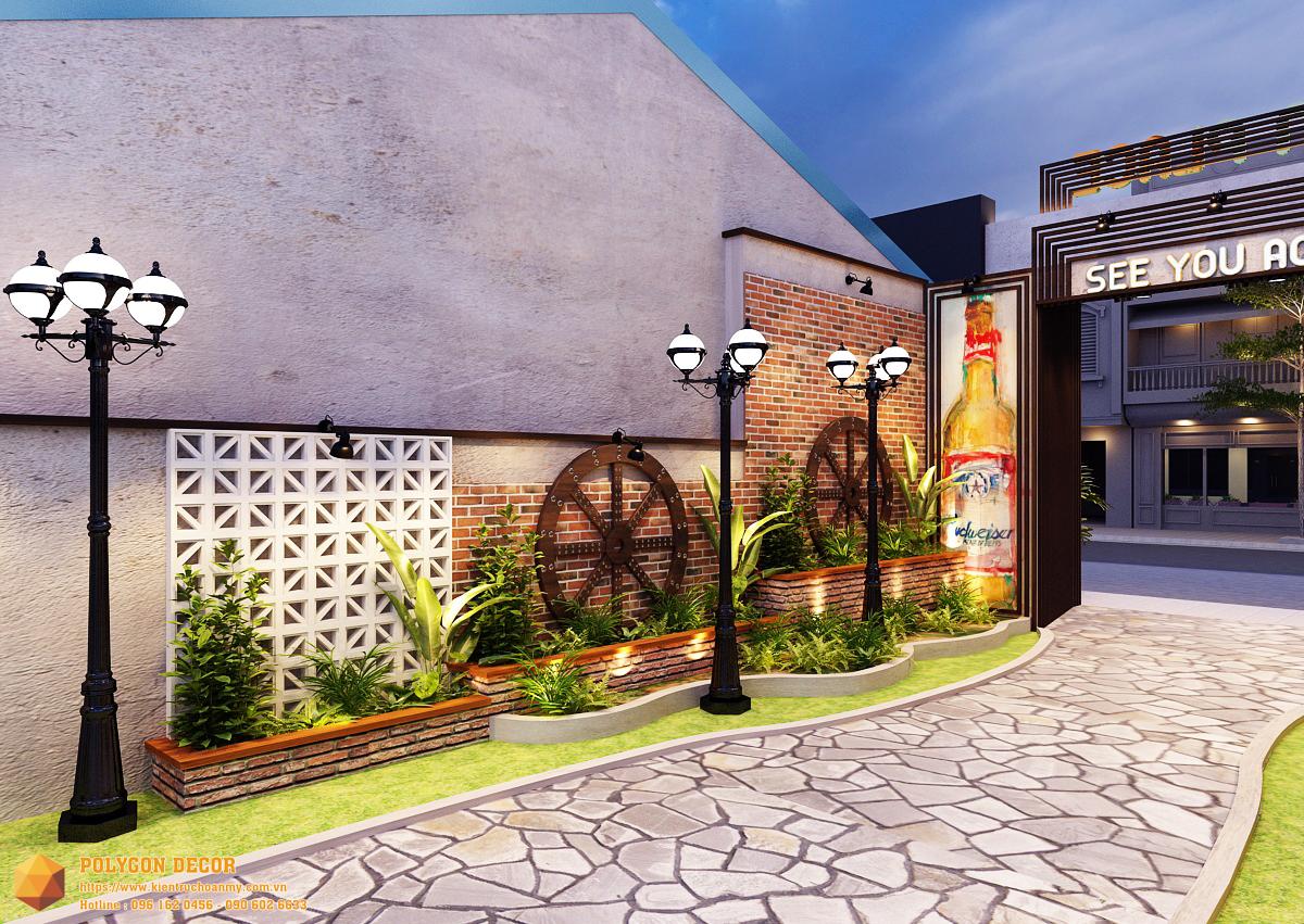 thiết kế nội thất Nhà Hàng tại Nam Định GOLDEN BEER - NAM ĐỊNH 6 1561950730