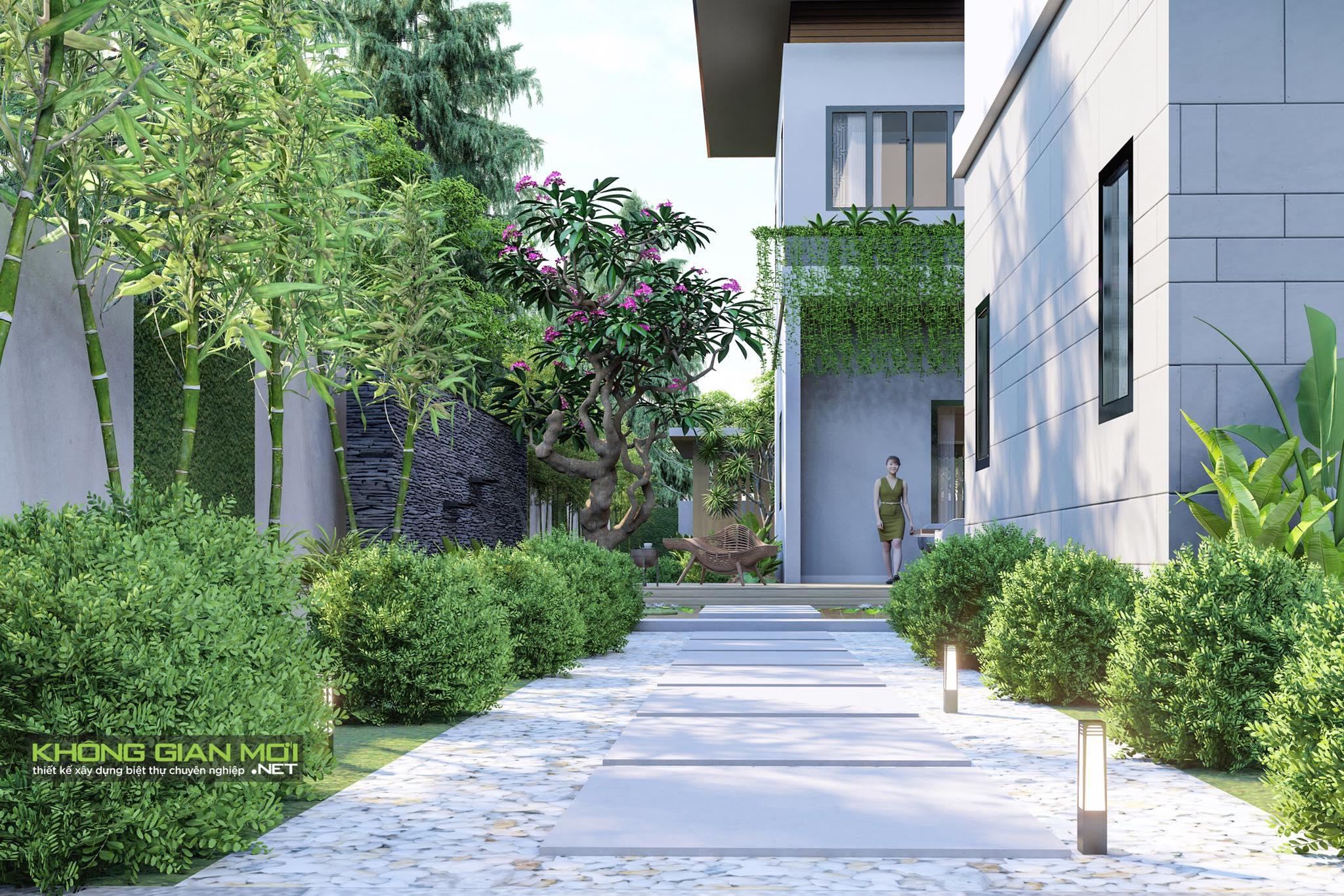 thiết kế Biệt Thự 2 tầng tại Tiền Giang KGM THIẾT KẾ XÂY DỰNG BIỆT THỰ - TIỀN GIANG 2 1562642646