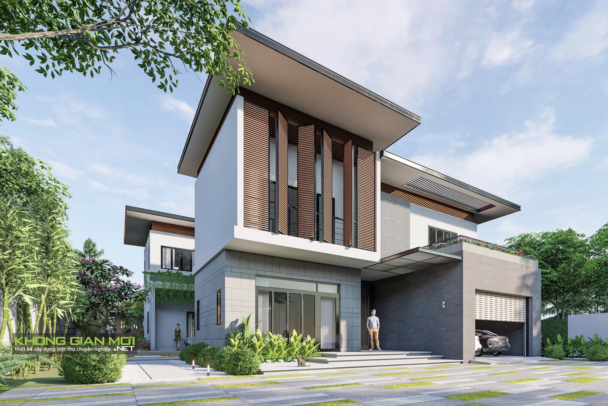 thiết kế Biệt Thự 2 tầng tại Tiền Giang KGM THIẾT KẾ XÂY DỰNG BIỆT THỰ - TIỀN GIANG 3 1562642646
