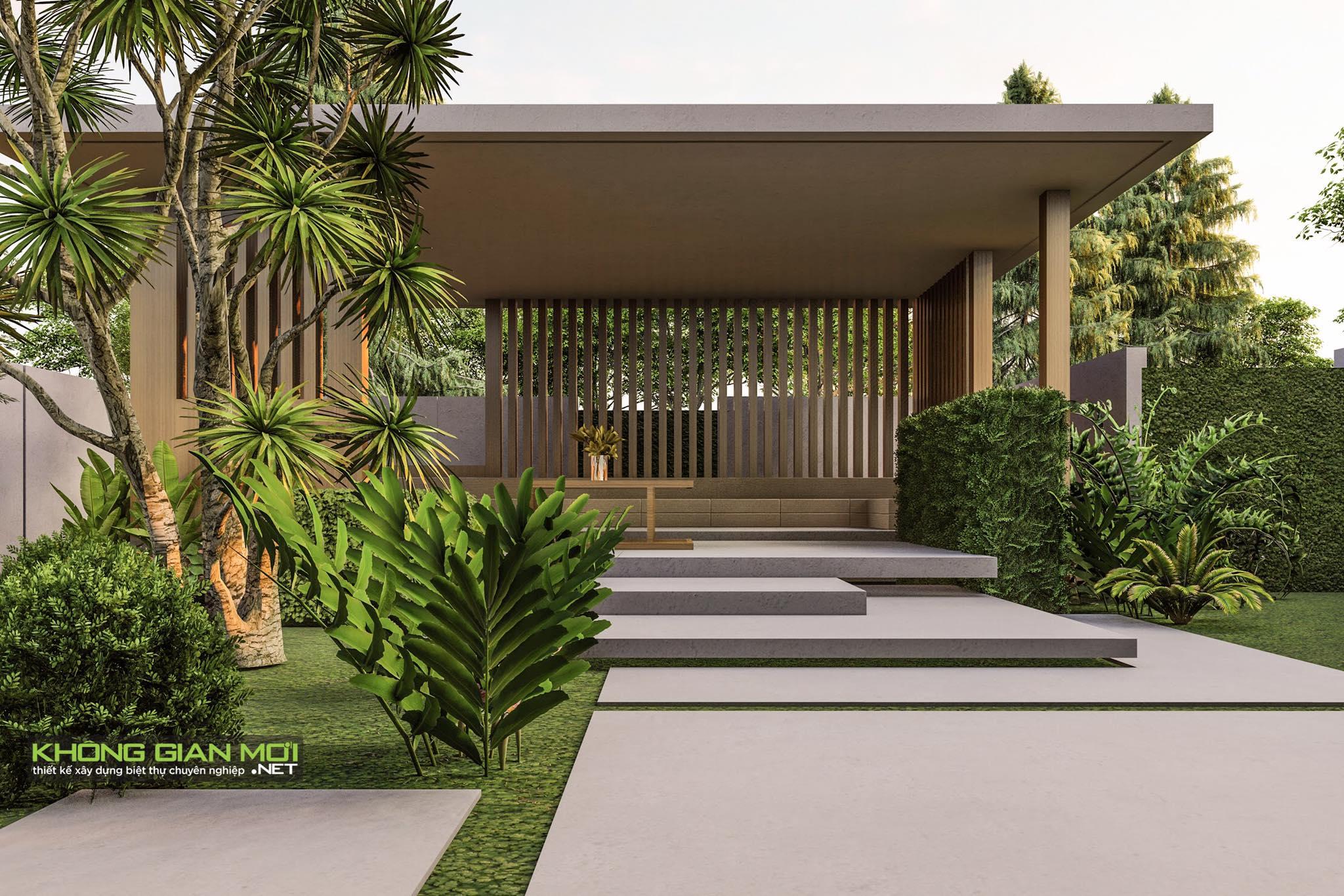 thiết kế Biệt Thự 2 tầng tại Tiền Giang KGM THIẾT KẾ XÂY DỰNG BIỆT THỰ - TIỀN GIANG 4 1562642646