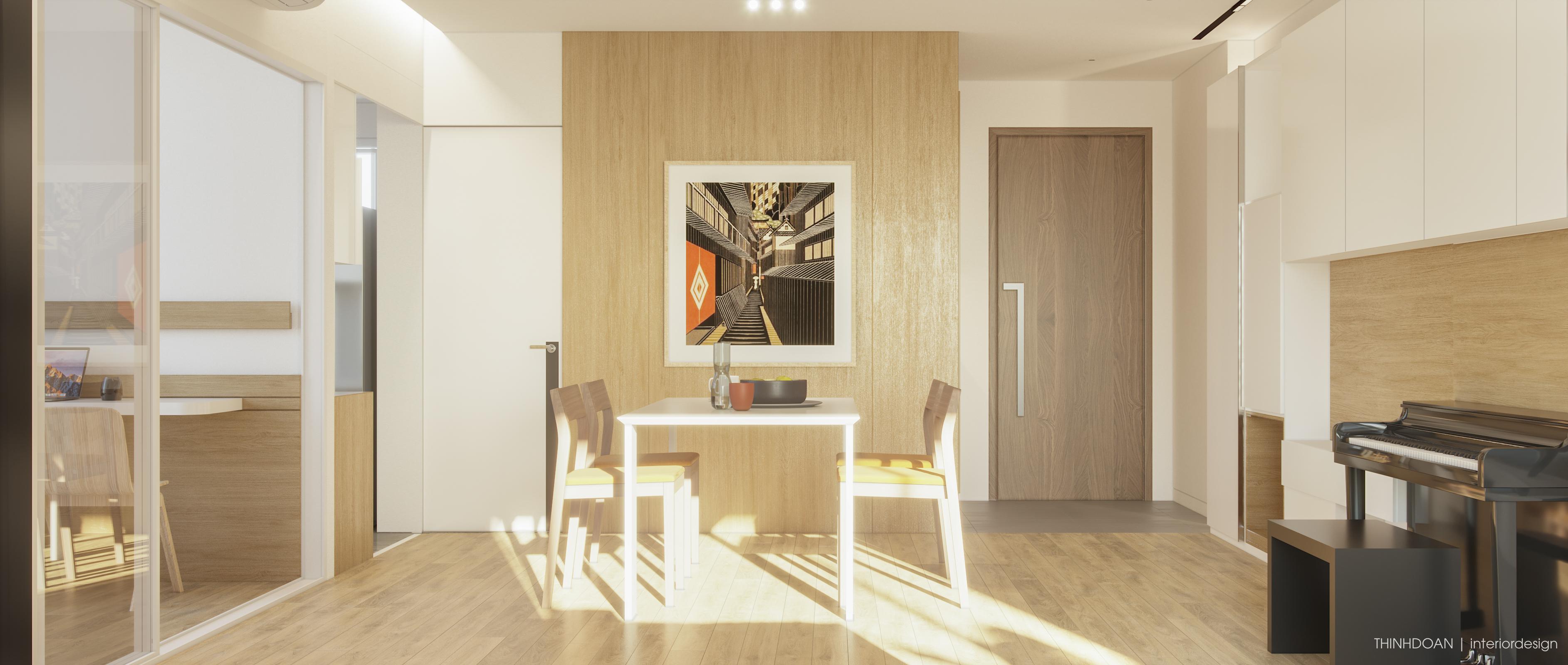 Thiết kế nội thất Chung Cư tại Hồ Chí Minh Scenic Valley 1 1577439555 1