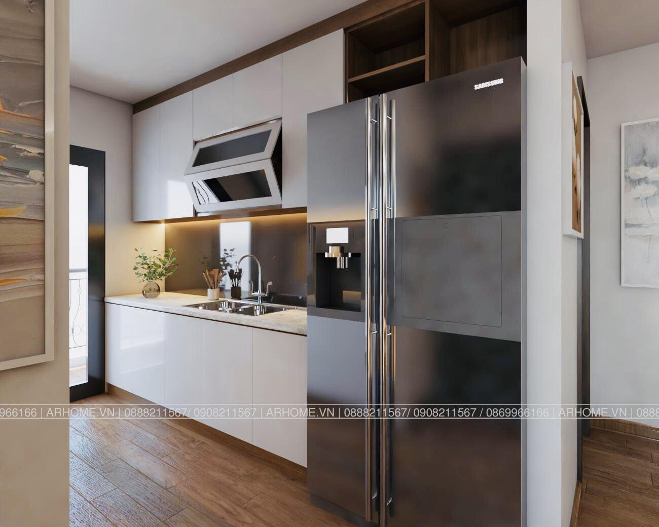 Thiết kế nội thất Chung Cư tại Hà Nội Ấn tượng khó phai với Thiết kế nội thất căn hộ Chung cư Lạc Hồng West Lake của Cô Họa sĩ 1585985648 4