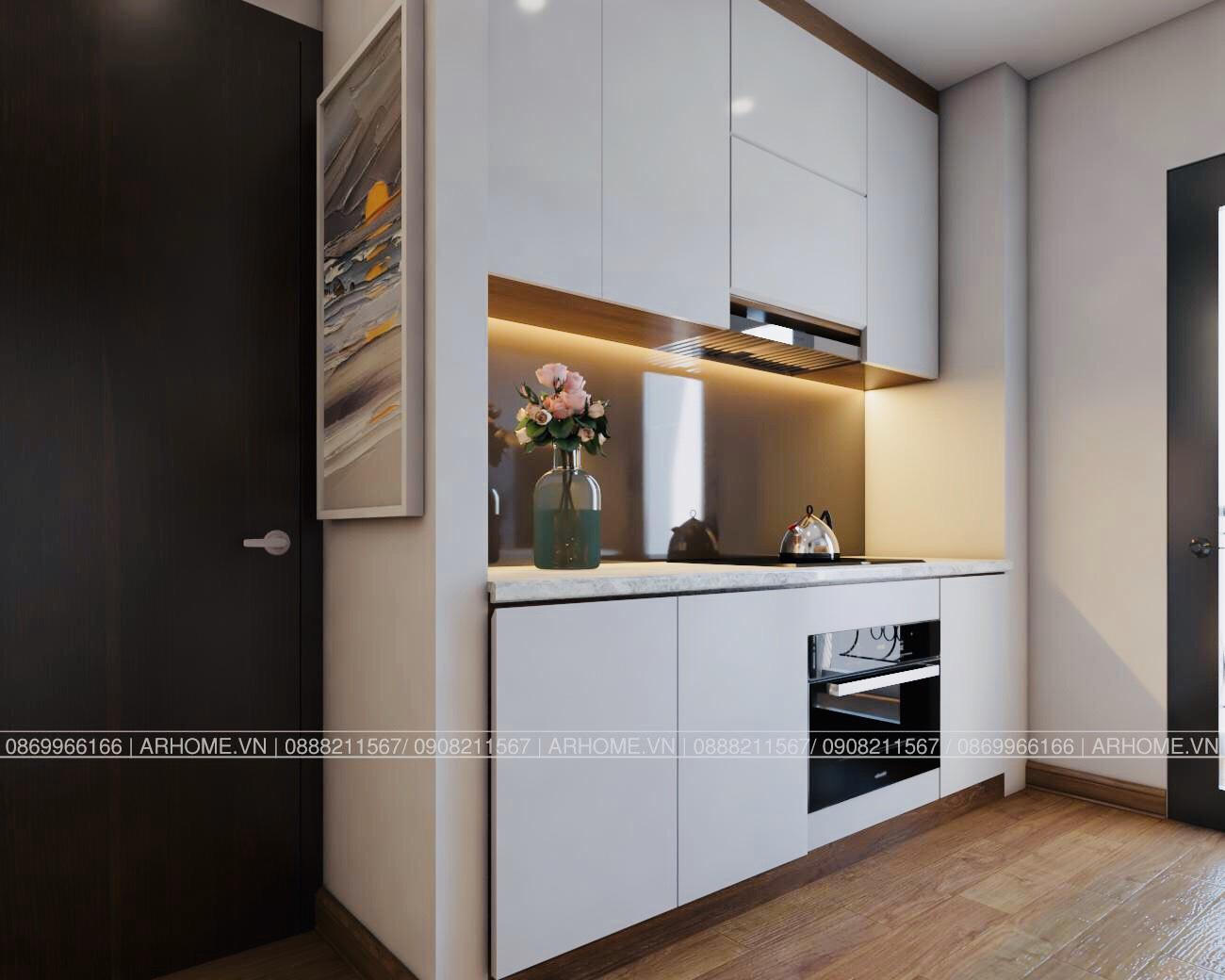 Thiết kế nội thất Chung Cư tại Hà Nội Ấn tượng khó phai với Thiết kế nội thất căn hộ Chung cư Lạc Hồng West Lake của Cô Họa sĩ 1585985648 5