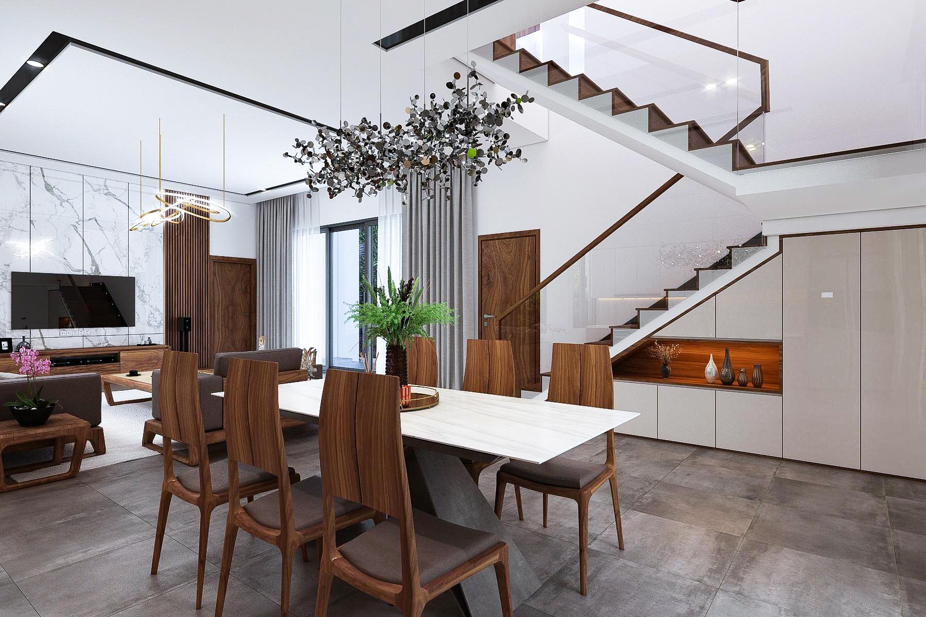 Thiết kế nội thất Biệt Thự tại Ninh Bình Biệt thự Ninh Bình 1600149400 0