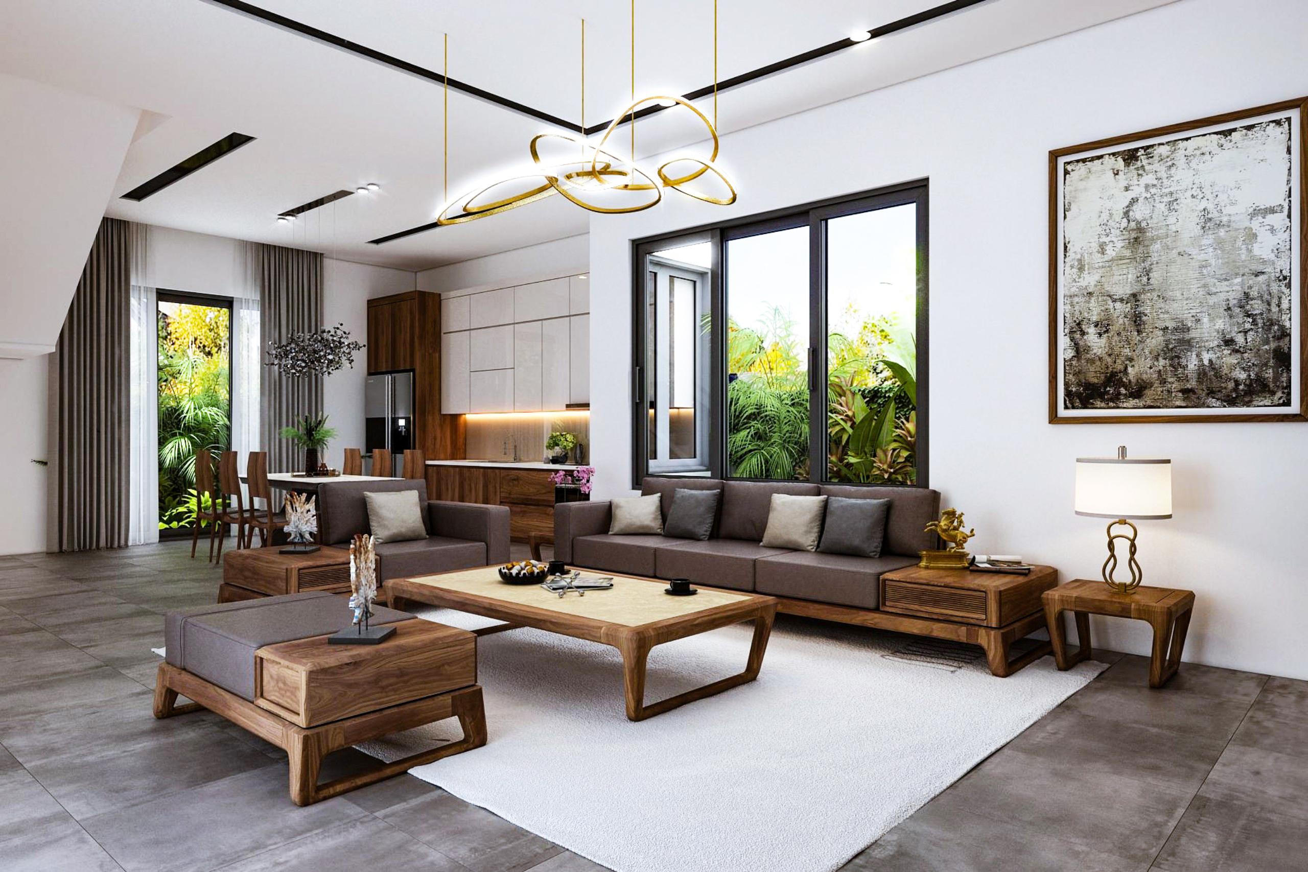 Thiết kế nội thất Biệt Thự tại Ninh Bình Biệt thự Ninh Bình 1600149401 4