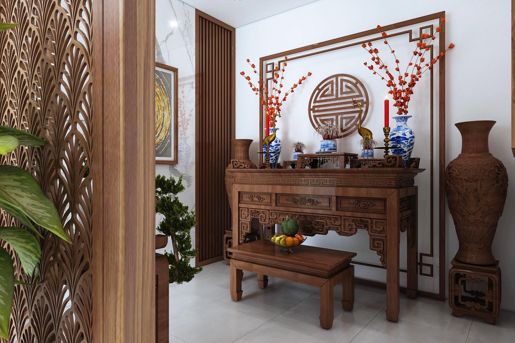 Thiết kế nội thất Biệt Thự tại Ninh Bình Biệt thự Ninh Bình 1600149402 7
