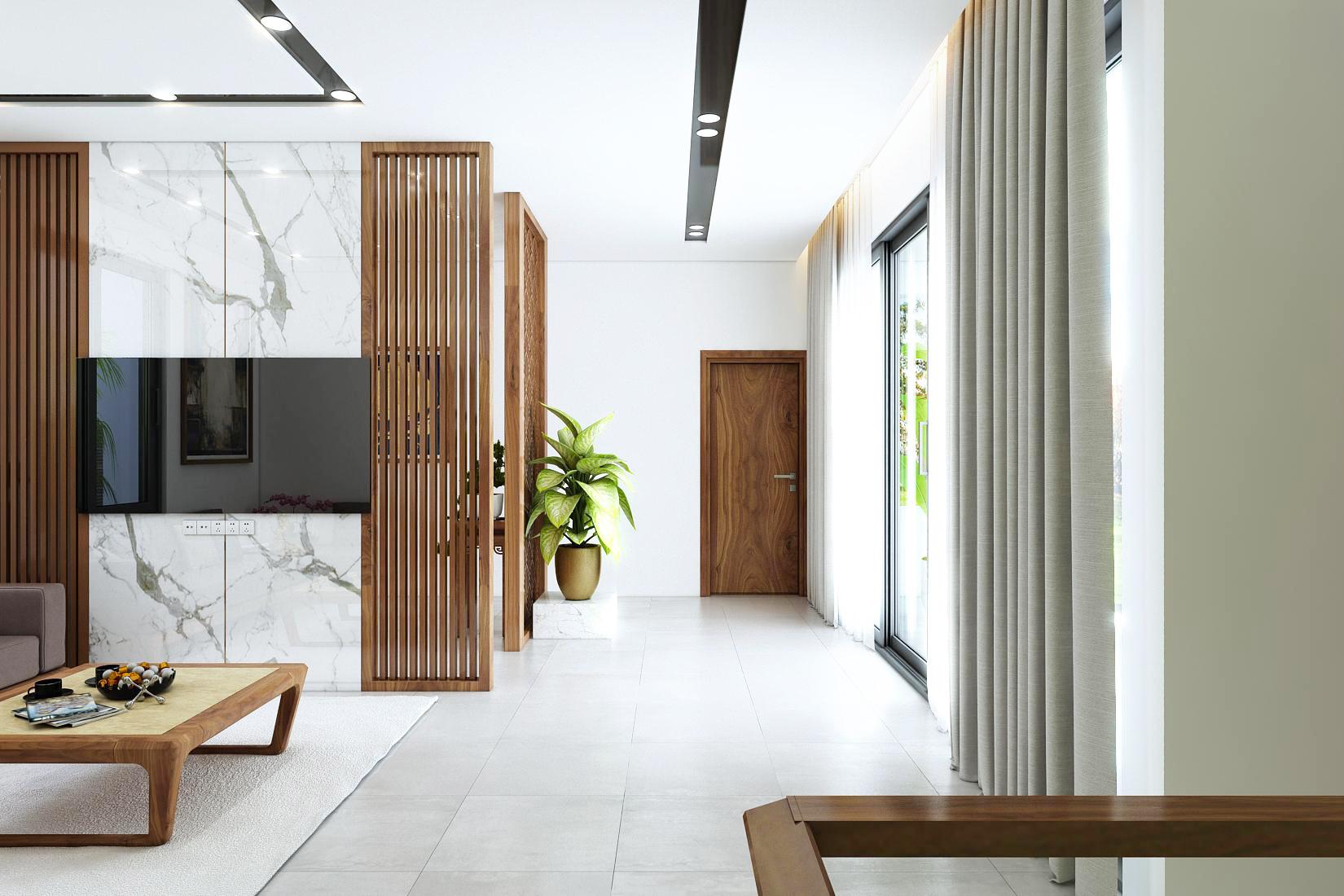 Thiết kế nội thất Biệt Thự tại Ninh Bình Biệt thự Ninh Bình 1600149402 8