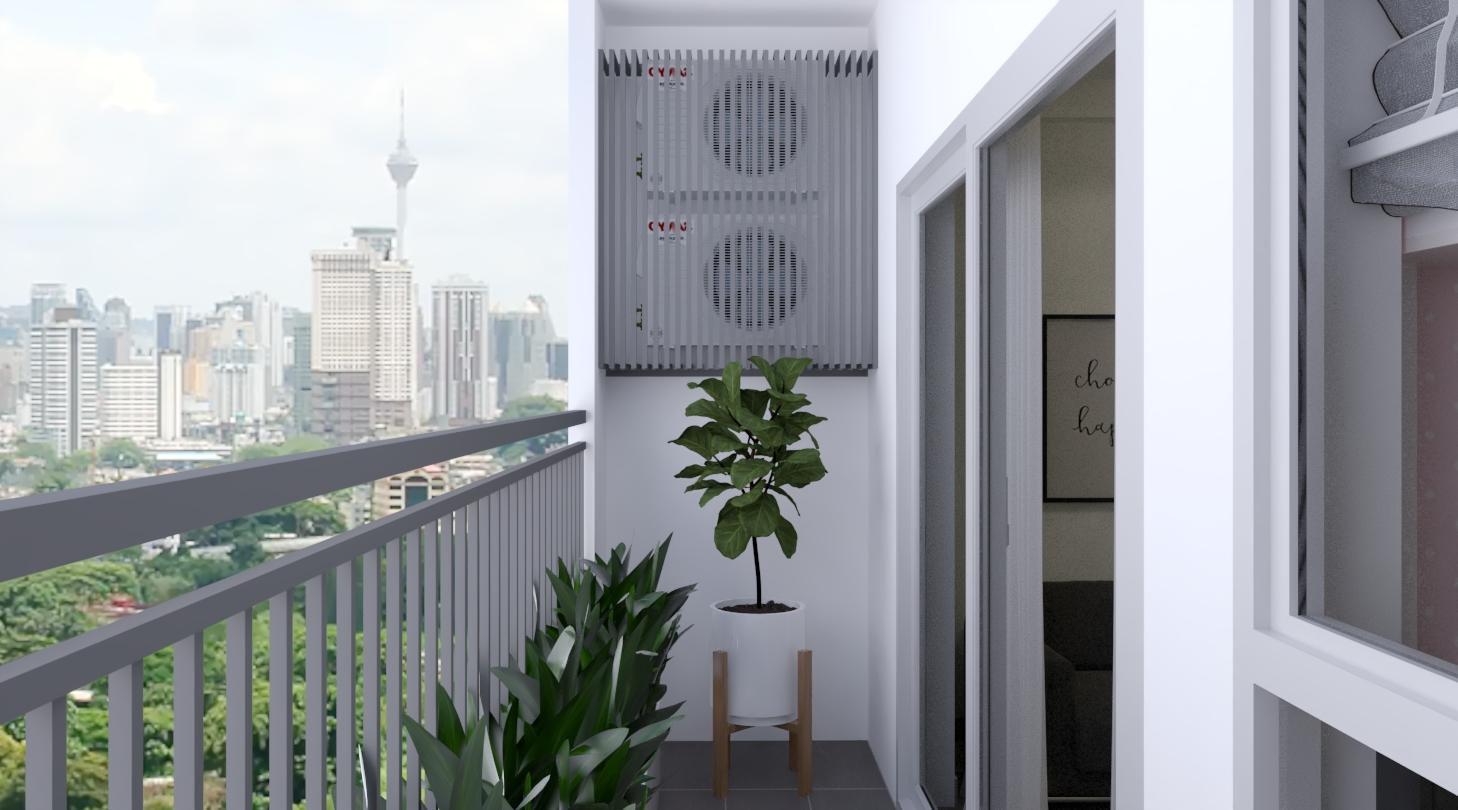 Thiết kế nội thất Chung Cư tại Hồ Chí Minh Căn hộ Sunrisse 1576570108 11