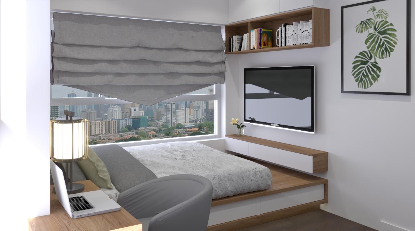 Thiết kế nội thất Chung Cư tại Hồ Chí Minh Căn hộ Sunrisse 1576570108 7