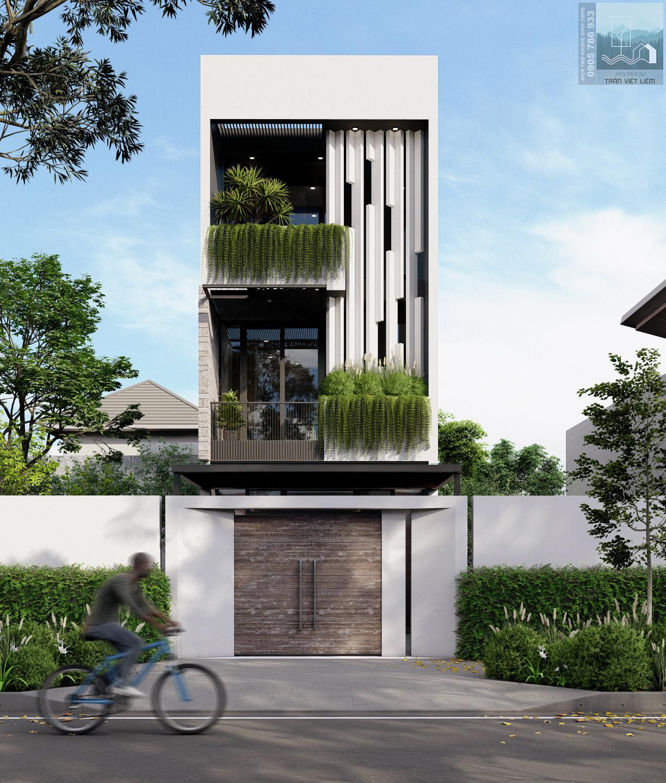 Thiết kế Nhà Mặt Phố tại Đà Nẵng DNG.MRTHANH-HOUSE 1590201935 0