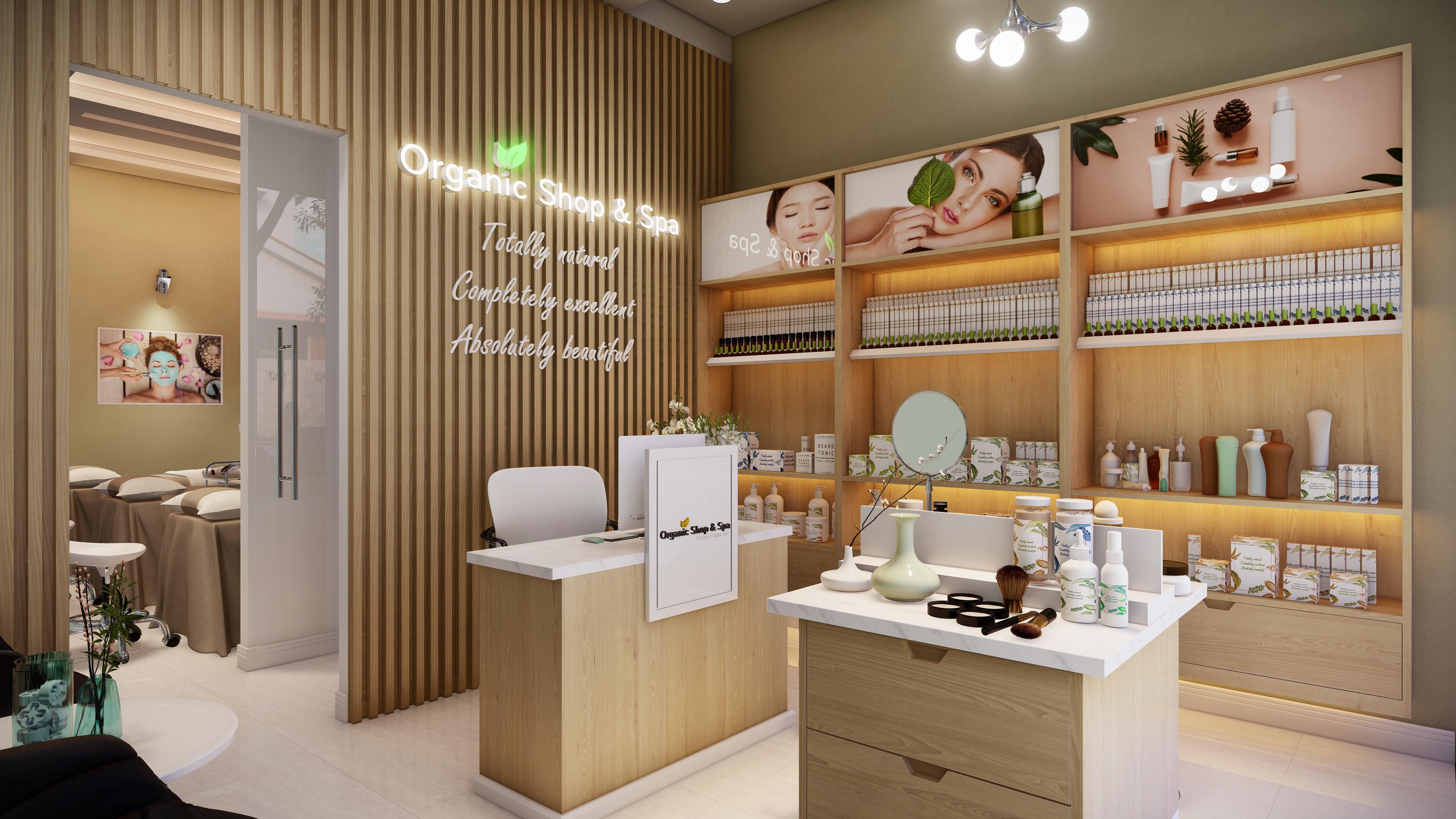 Thiết kế nội thất Spa tại Hồ Chí Minh HCM.MRGIANG-SHOP&SPA 1590203831 1