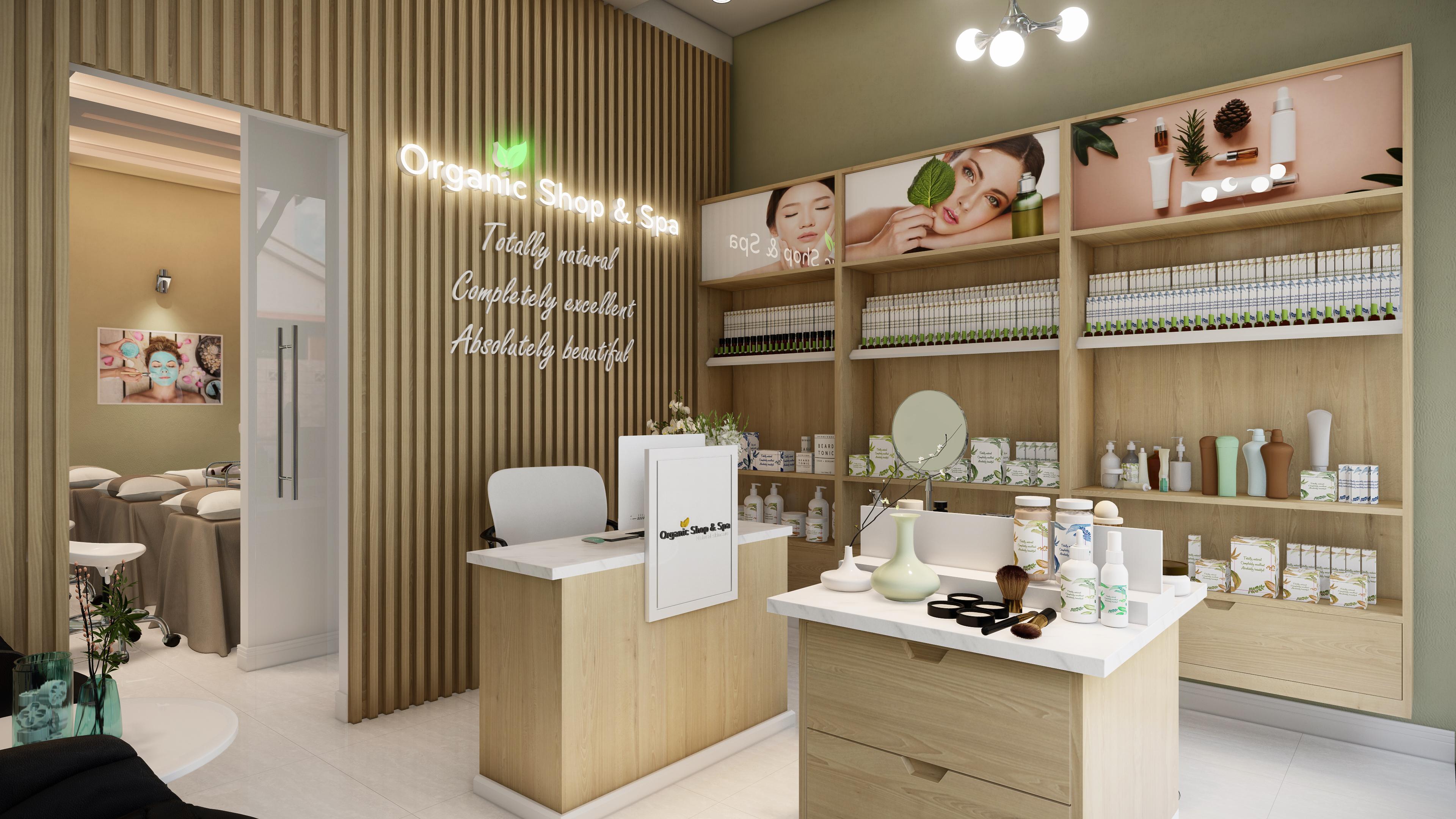 Thiết kế nội thất Spa tại Hồ Chí Minh HCM.MRGIANG-SHOP&SPA 1590203831 2
