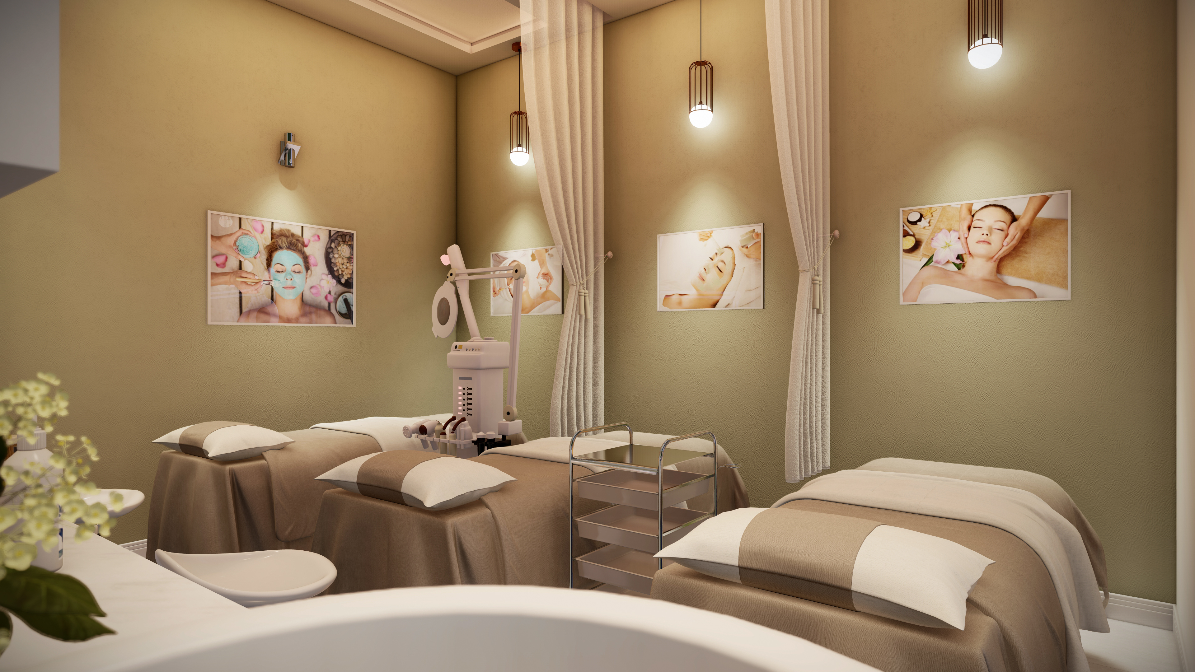 Thiết kế nội thất Spa tại Hồ Chí Minh HCM.MRGIANG-SHOP&SPA 1590203838 12