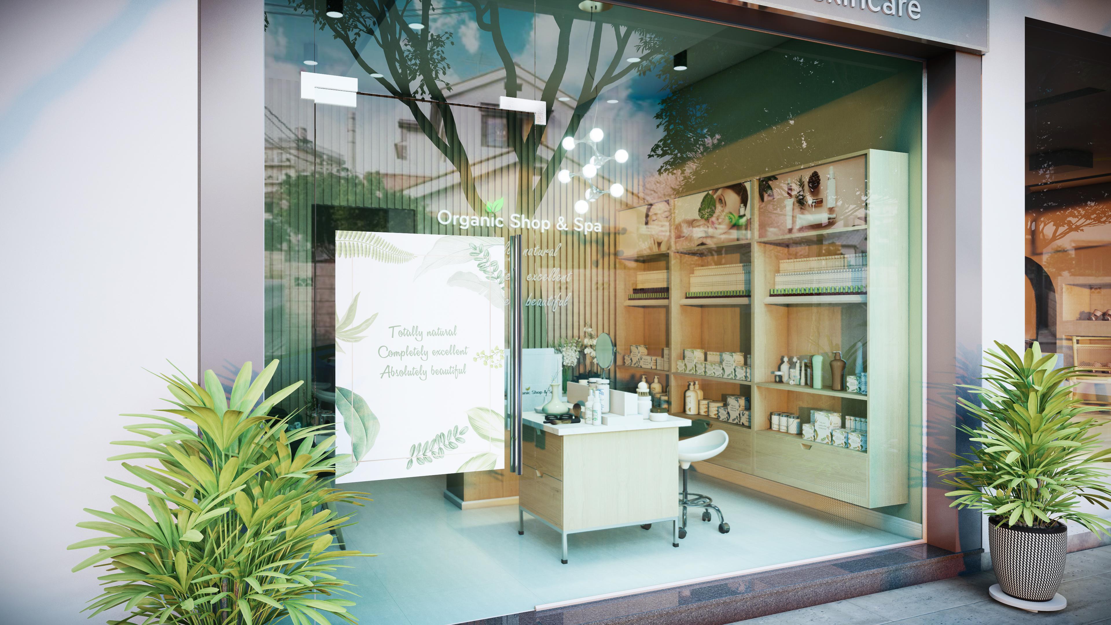 Thiết kế nội thất Spa tại Hồ Chí Minh HCM.MRGIANG-SHOP&SPA 1590203838 8