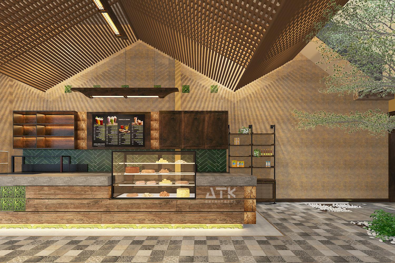 thiết kế nội thất Cafe tại Hà Nội Tiệm bánh & cà phê Fresh Garden 3 1549904422