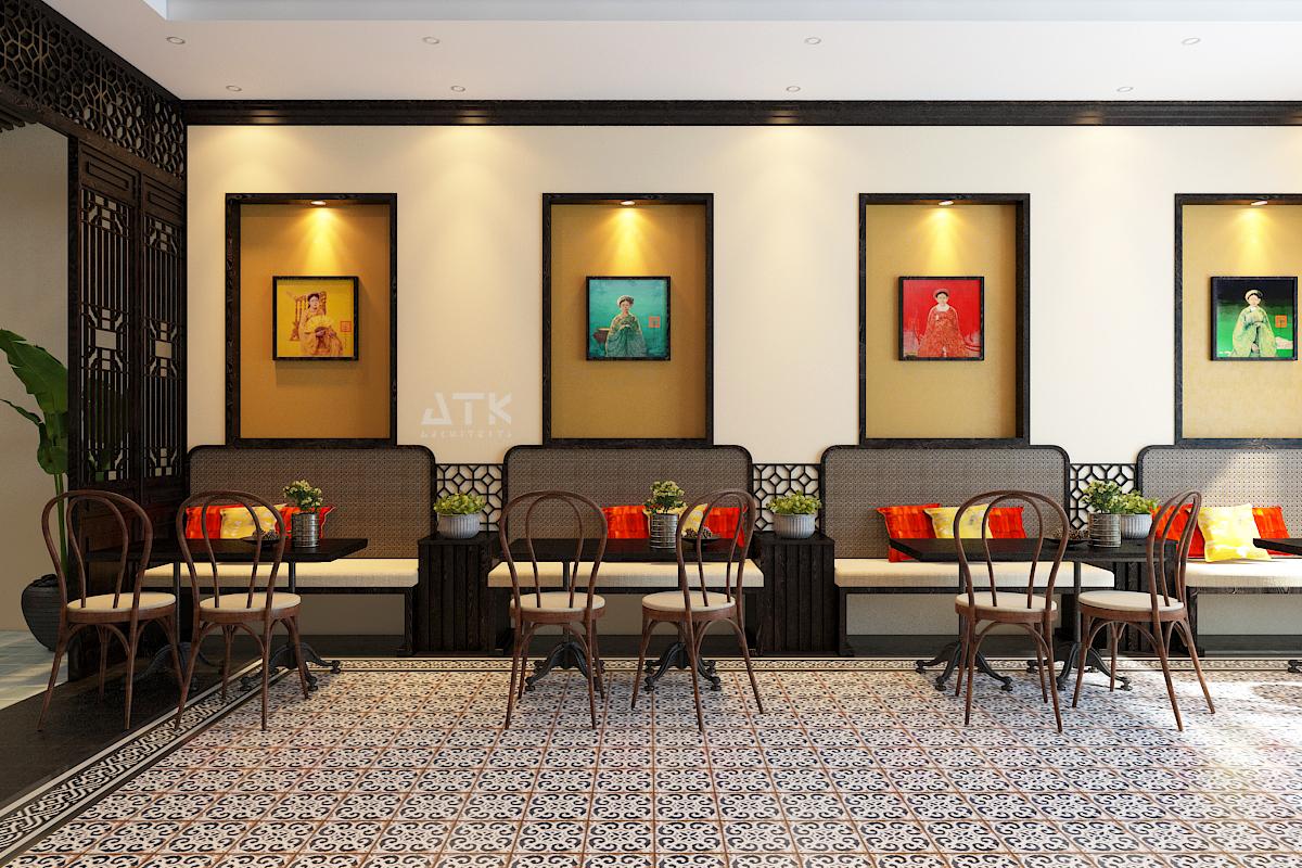 thiết kế nội thất Cafe tại Hà Nội Tiệm bánh & cà phê Fresh Garden 4 1549904420
