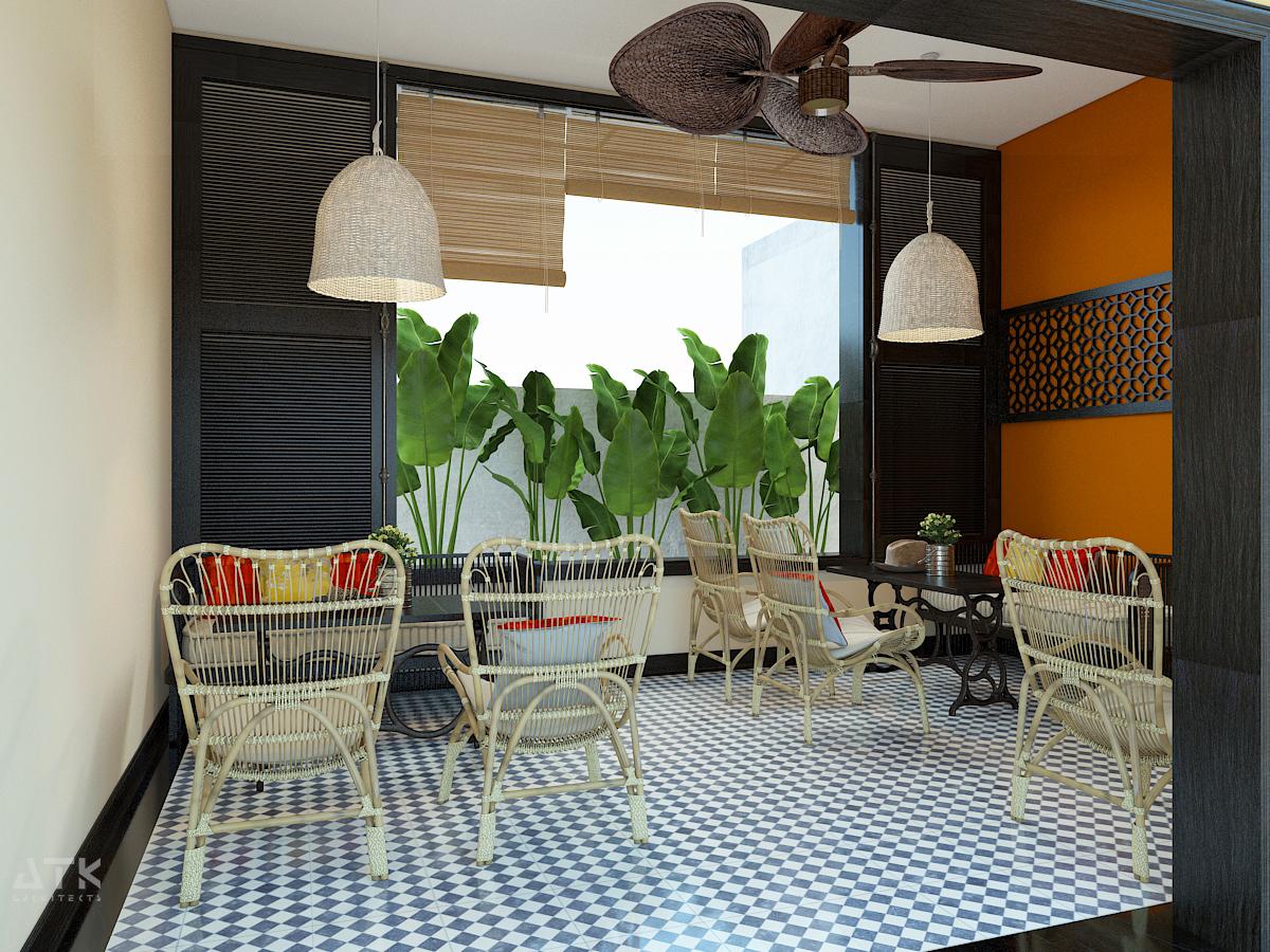thiết kế nội thất Cafe tại Hà Nội Tiệm bánh & cà phê Fresh Garden 7 1549904422