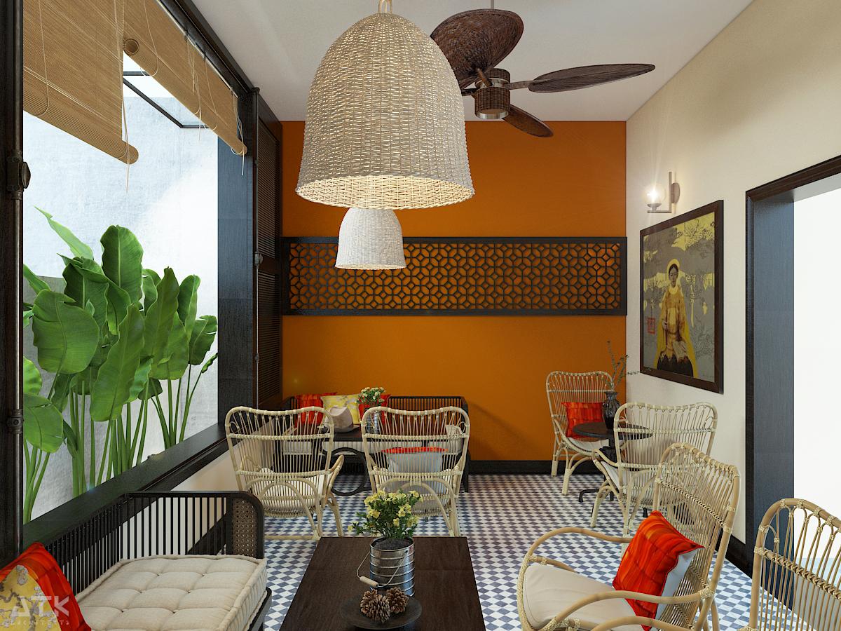 thiết kế nội thất Cafe tại Hà Nội Tiệm bánh & cà phê Fresh Garden 8 1549904425