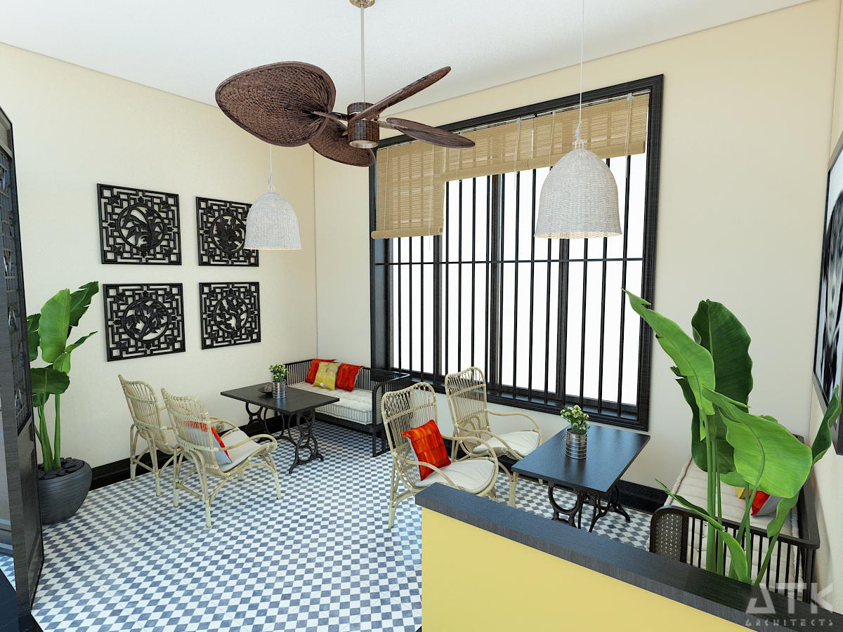 thiết kế nội thất Cafe tại Hà Nội Tiệm bánh & cà phê Fresh Garden 9 1549904424