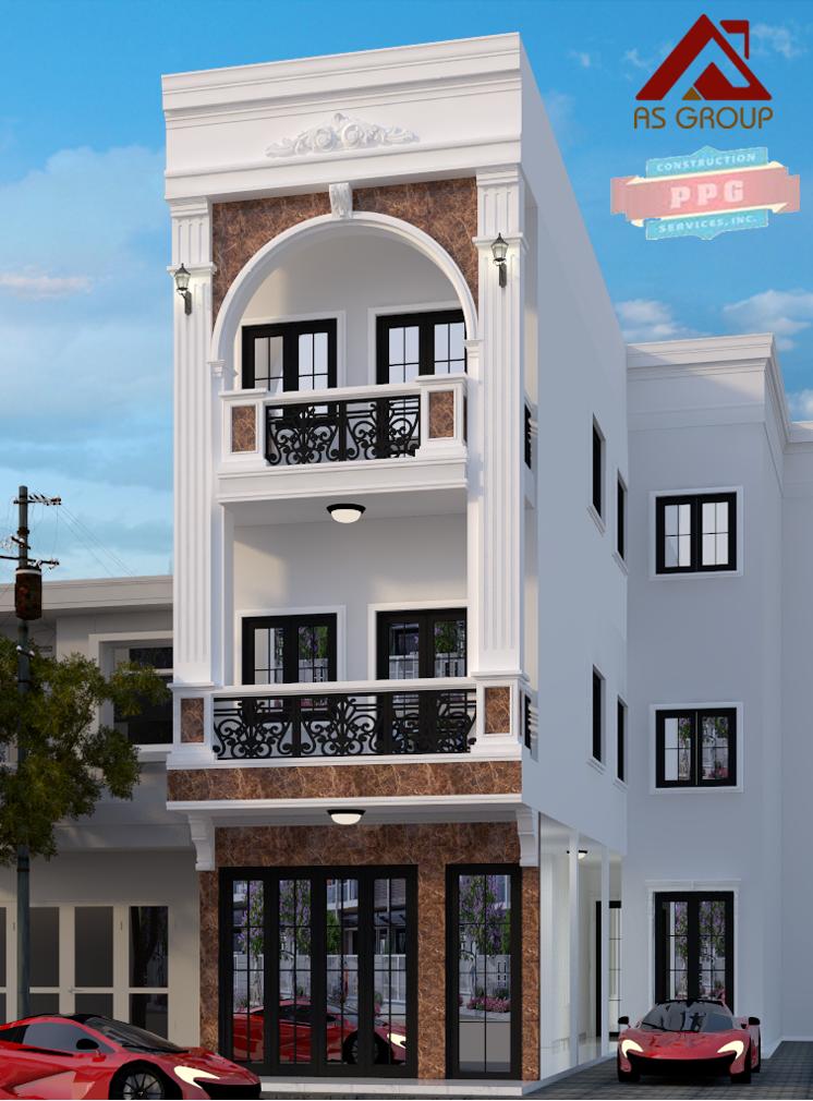 thiết kế Nhà 2 tầng tại Hồ Chí Minh NHÀ PHỐ KẾT HỢP  0 1563597718