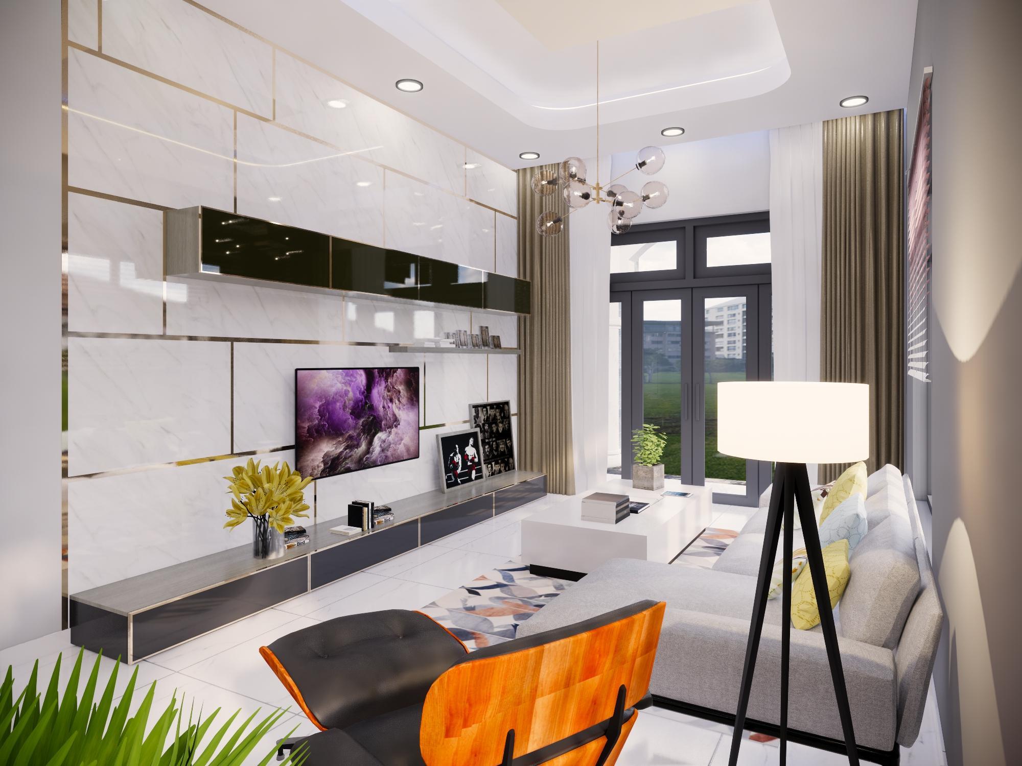 Thiết kế nội thất Nhà tại Bình Thuận NHÀ PHỐ I TRẦN THỊ PHƯƠNG LAN 1574139985 0