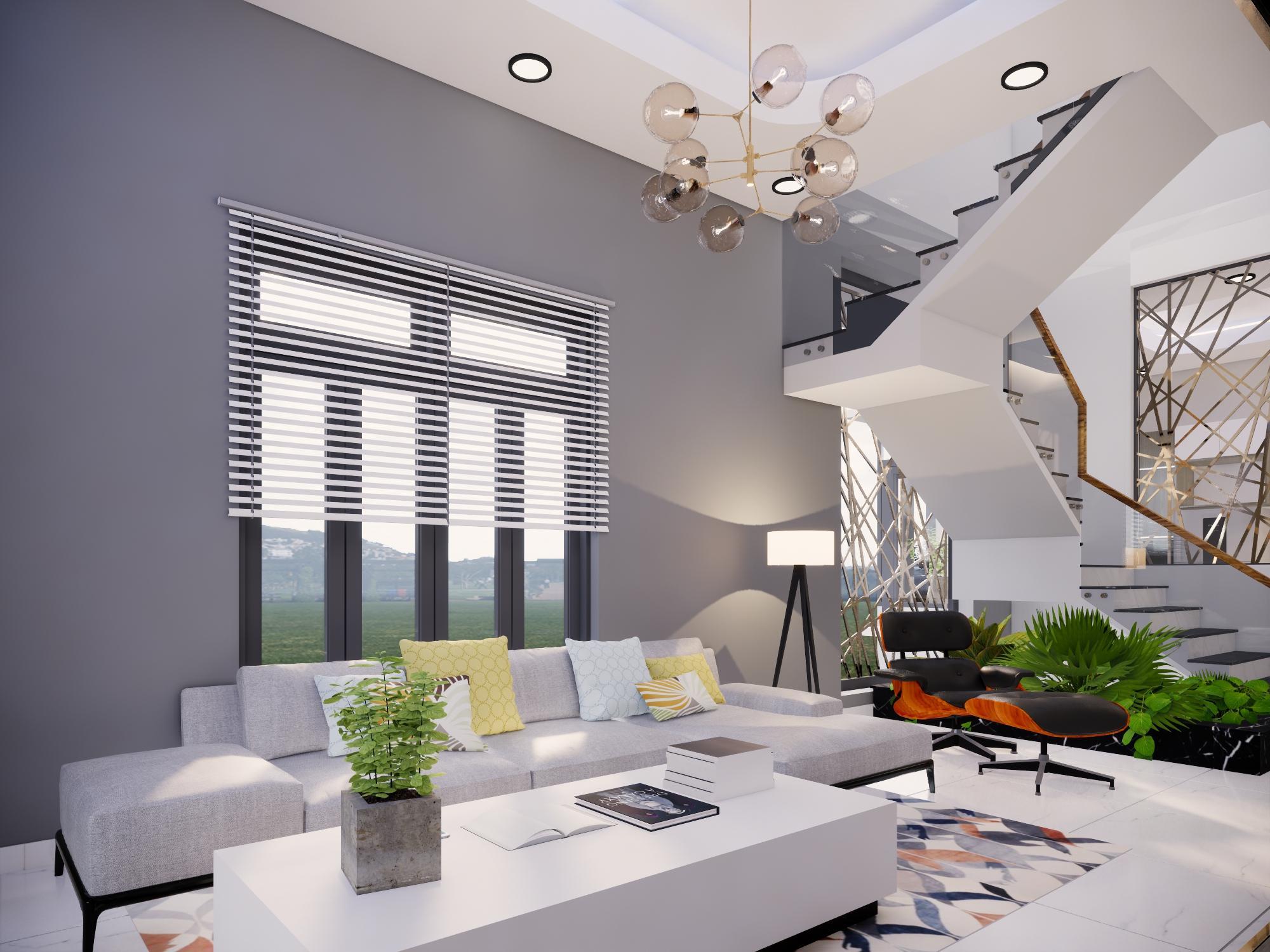 Thiết kế nội thất Nhà tại Bình Thuận NHÀ PHỐ I TRẦN THỊ PHƯƠNG LAN 1574139985 3