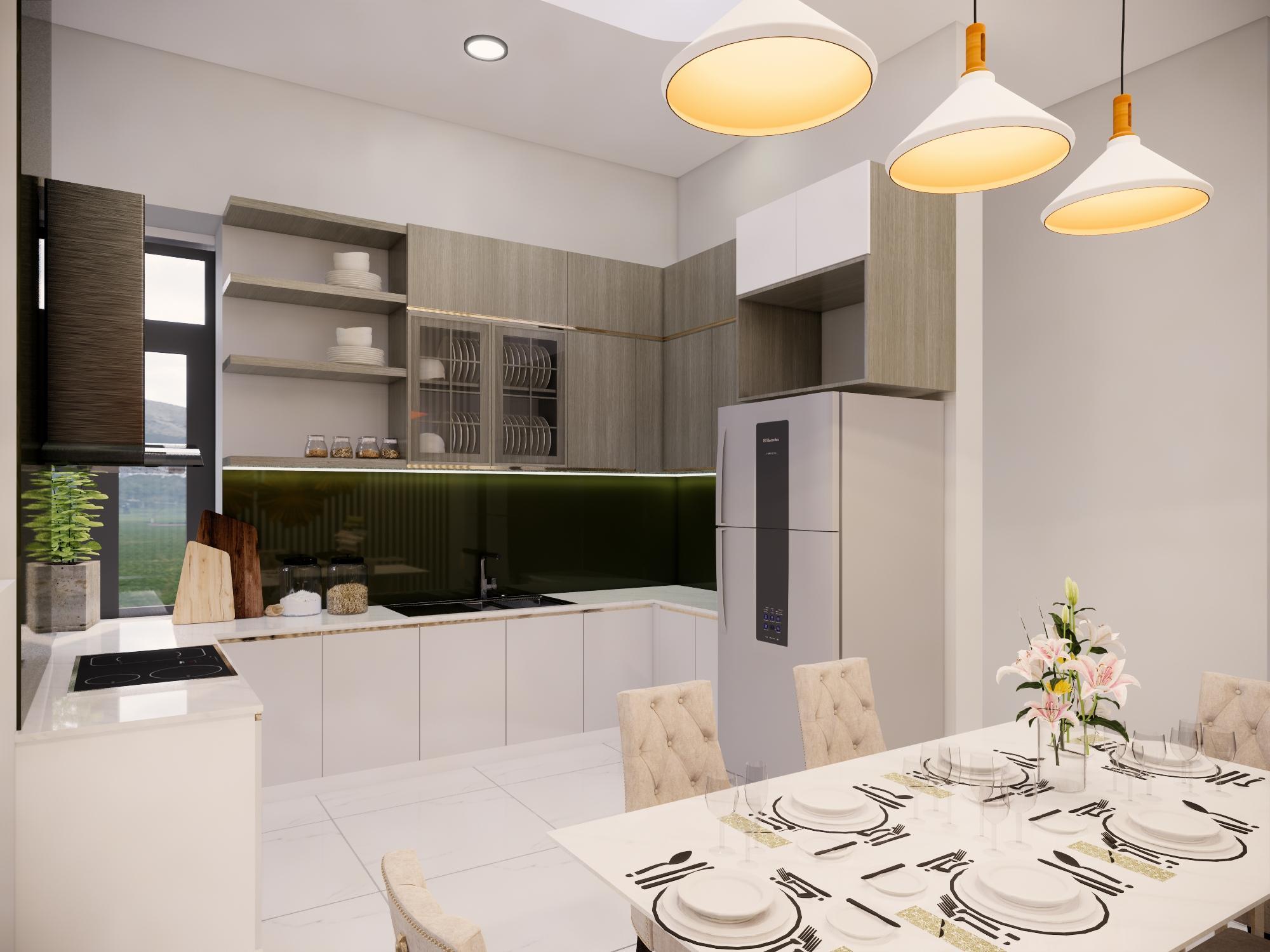 Thiết kế nội thất Nhà tại Bình Thuận NHÀ PHỐ I TRẦN THỊ PHƯƠNG LAN 1574139985 5