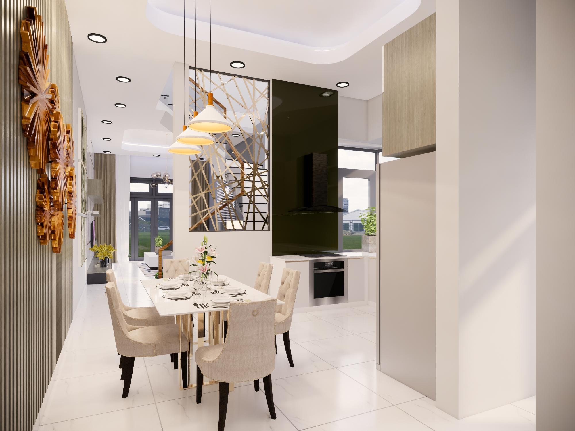 Thiết kế nội thất Nhà tại Bình Thuận NHÀ PHỐ I TRẦN THỊ PHƯƠNG LAN 1574139985 6