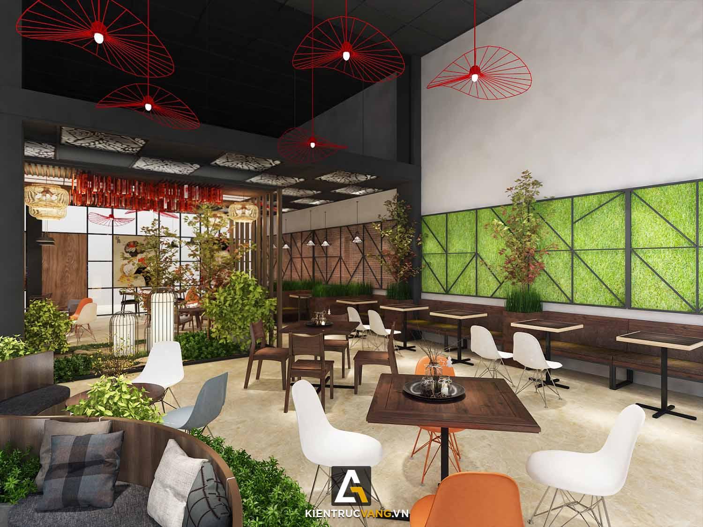 Thiết kế nội thất Cafe tại Đồng Nai Thiết kế quán trà sữa Goky, chi nhánh Đồng Nai 1617092458 1