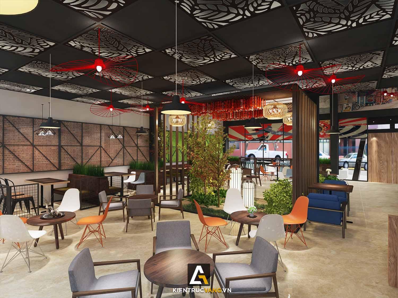 Thiết kế nội thất Cafe tại Đồng Nai Thiết kế quán trà sữa Goky, chi nhánh Đồng Nai 1617092458 2