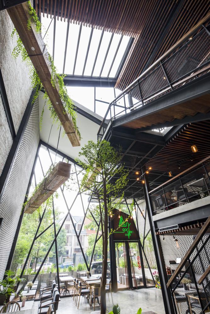 thiết kế Cafe An Garden48