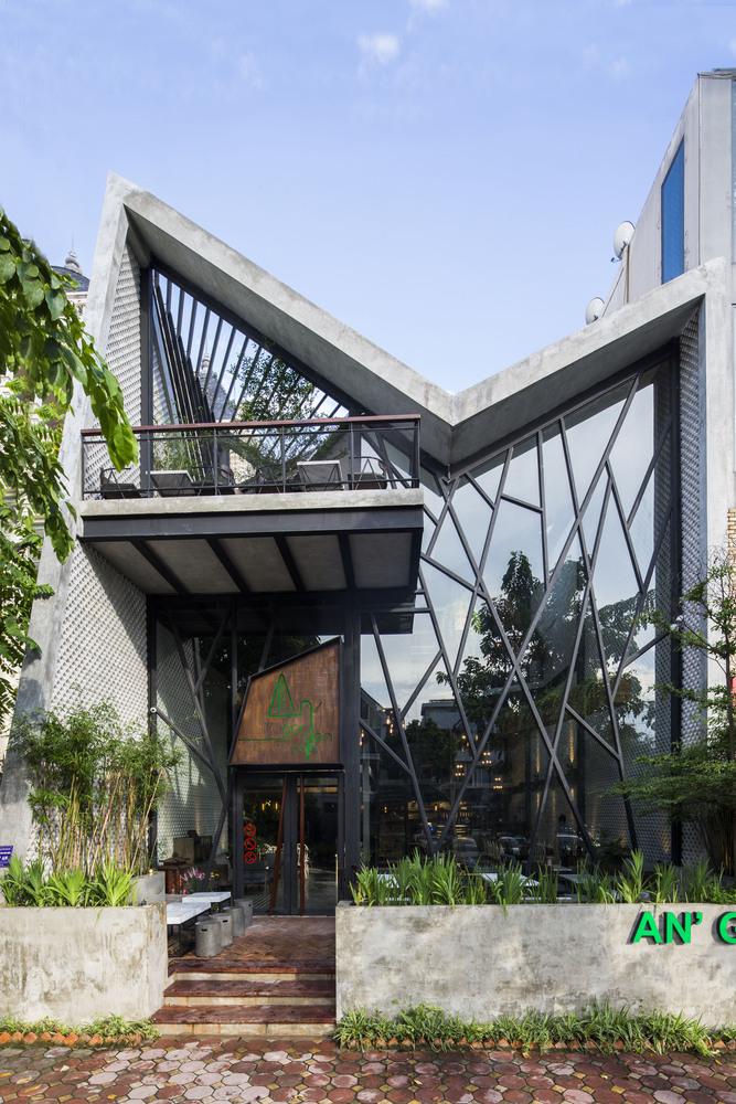 thiết kế Cafe An Garden67