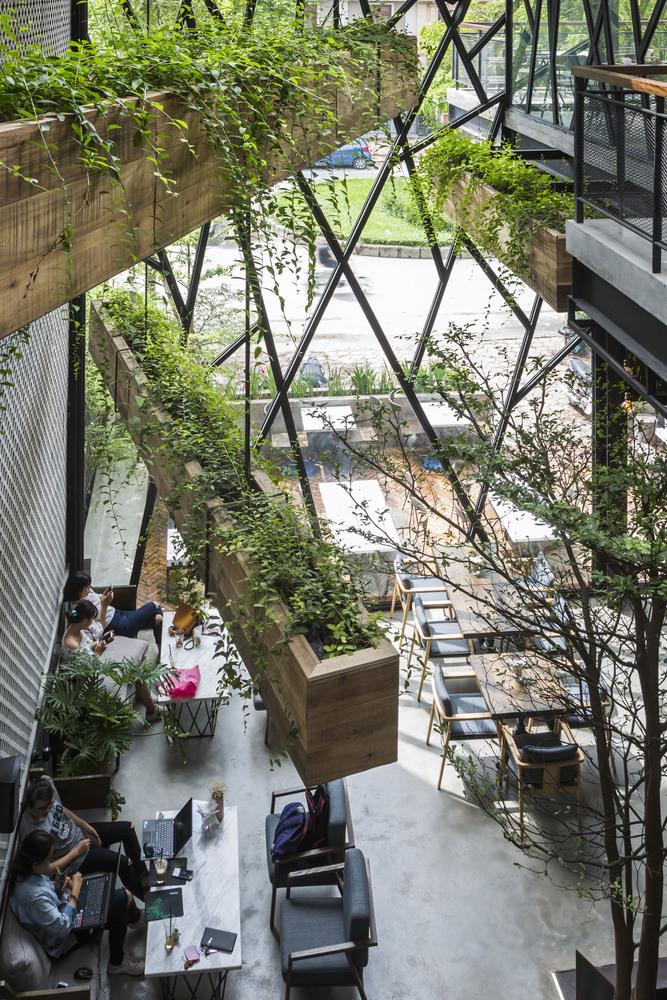 thiết kế Cafe An Garden1110