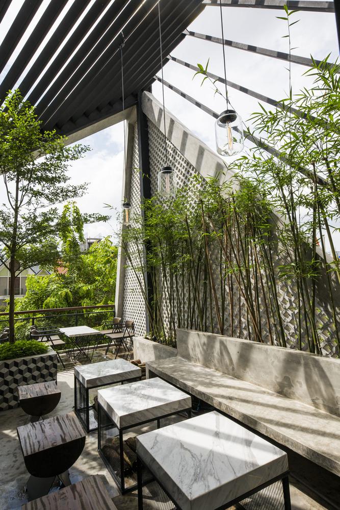 thiết kế Cafe An Garden156