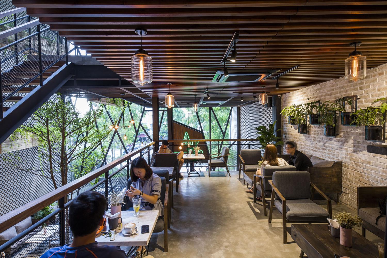 thiết kế Cafe An Garden76