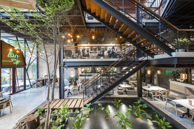 thiết kế Cafe An Garden910