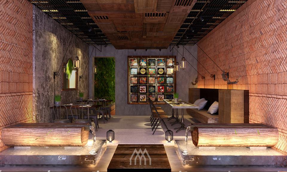 thiết kế Nhà Hàng Dong Phu 1932- Vietnam Cuisine Restaurant06